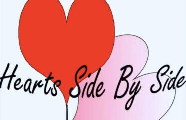 Hearts Side by Side