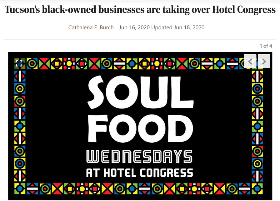 Soul Food Wednesdays | Hotel Congress
