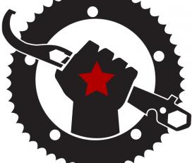 Flag Bike Revolution