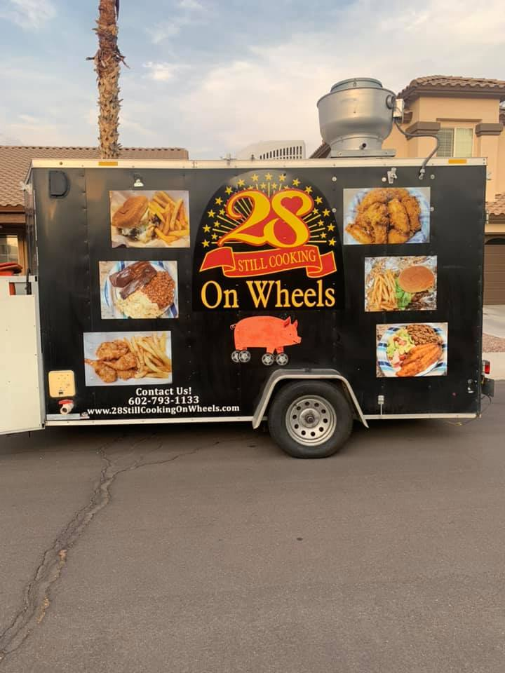 28 Still Cooking Catfish & Ribs On Wheels